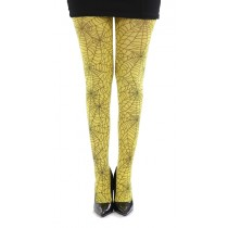 Webber A Printed Tights (Flo Yellow)