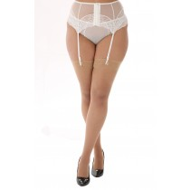 Lace Top Stockings (Natural)