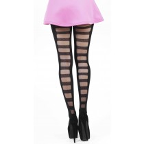 Ladder Tights (Black)