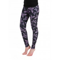 Alchemy Gothic Lady Empress Leggings (Black/Pink)