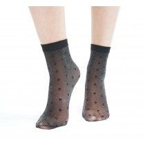 Low Rise Glitter Spot Ankle Sock