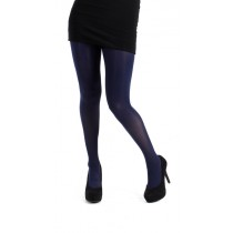 120 Denier 3D Opaque Tights (Navy)
