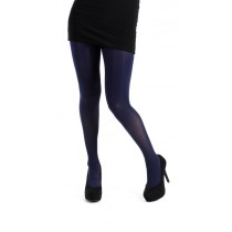 40 Denier Velvet Tights (Navy)