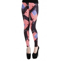 Paige US Flag Leggings