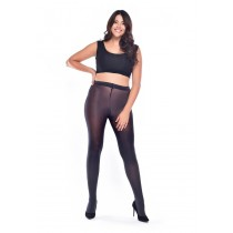 50 Denier Curvy Super-stretch Tights (Slate)