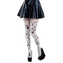 Paradise Island Tights (Black/White)