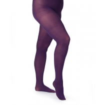 50 Denier Curvy Super Stretch Tights Purple