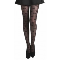 Lip Design Tights