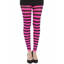 Twickers Footless Tights (Flo Pink)