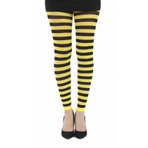 Twickers Footless Tights (Flo Yellow)
