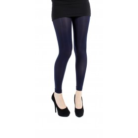 50 Denier Footless Tights (Navy)