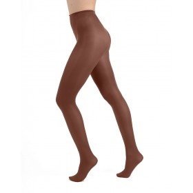 50 Denier Opaque Tights (Chocolate)