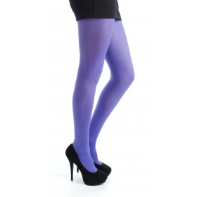 50 Denier Opaque Tights (Flo Purple)