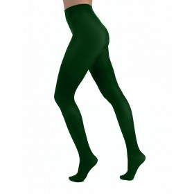 50 Denier Opaque Tights (Forest Green)