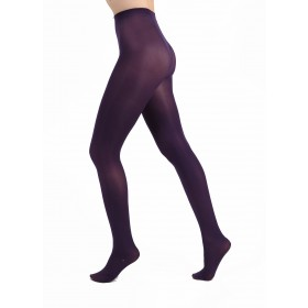 50 Denier Opaque Tights (Purple)