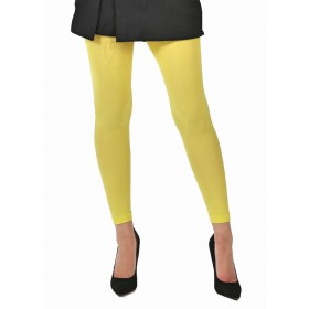 50 Denier Footless Tights (Lemon)