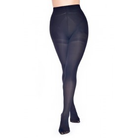 60 Denier Bum, Tum and Thigh Tights (Black)