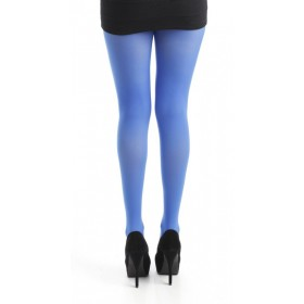 50 Denier Opaque Tights (Flo Blue)