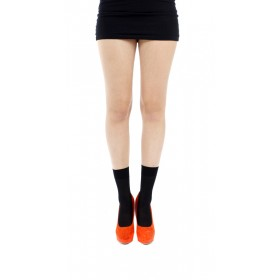 80 Denier Opaque Ankle Socks (Black)