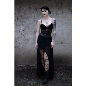 Barbed Wire Gothic Tattoo Tights (Nude)