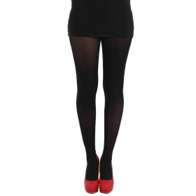 40 Denier Velvet Tights (Black)