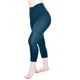 50 Denier Capri 3/4 Tights (Dark Teal)