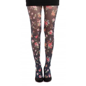 Ditsy Floral Printed Tights- CLEARANCE