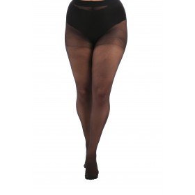 Essential 15 Denier Sheer Tights (Black)