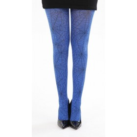 Webber A Printed Tights (Flo Blue)