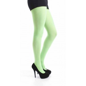 40 Denier Velvet Tights (Flo Green)