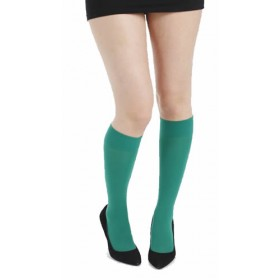 50 Denier Knee High Socks (Green)