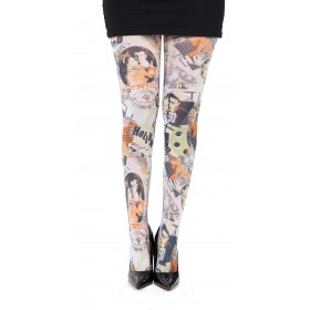 Hollywood Printed Tights- CLEARANCE
