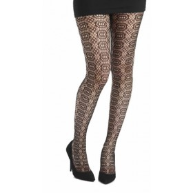 Katherine Wheel Tights (Black)