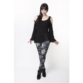 Alchemy Gothic Lady Ace Leggings (Black)