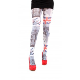 London Life Printed Tights