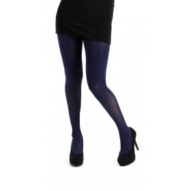 50 Denier Opaque Tights (Navy)