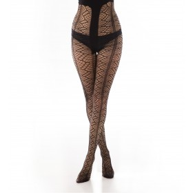 New Spiders Net Tights (Black)