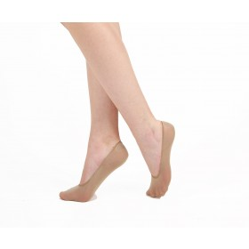 Invisible Footlet Socks (Nude)