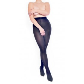 50 Denier Crotchless Tights (Black)