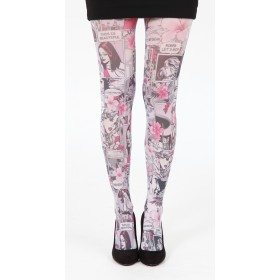 Paradise Island Tights (Pink)