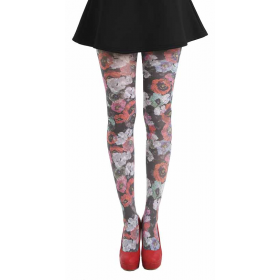 Poppy Printed Tights