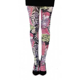 Public Enemy Printed Tights