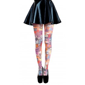 Style Up Printed Tights