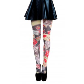 Summer Loving Printed Tights