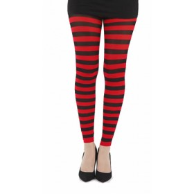 Twickers Footless Tights (Flo Red)