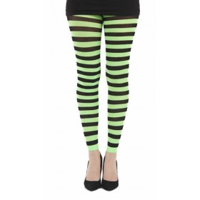 Twickers Footless Tights (Flo Green)