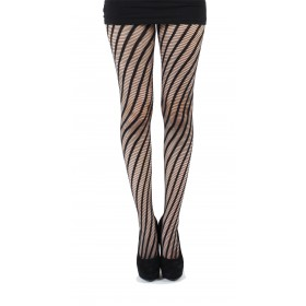 Twister Net Tights (Black)