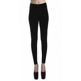 Velvet Leggings (Black)