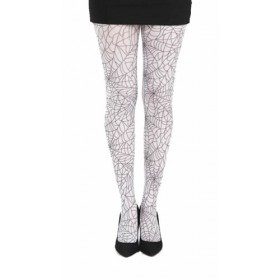 Webber A Printed Tights (Black/White)