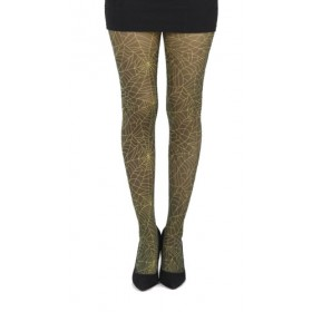 Webber B Printed Tights (Flo Yellow)